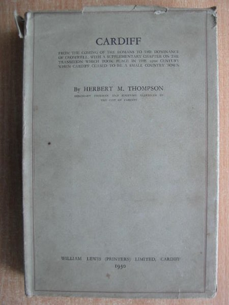 Photo of CARDIFF written by Thompson, Herbert M. published by William Lewis (STOCK CODE: 592888)  for sale by Stella & Rose's Books