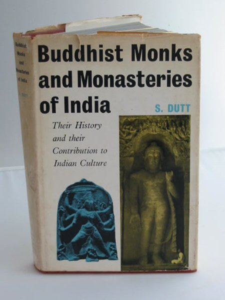 Photo of BUDDHIST MONKS AND MONASTRIES OF INDIA written by Dutt, Sukumar published by George Allen & Unwin Ltd. (STOCK CODE: 593690)  for sale by Stella & Rose's Books