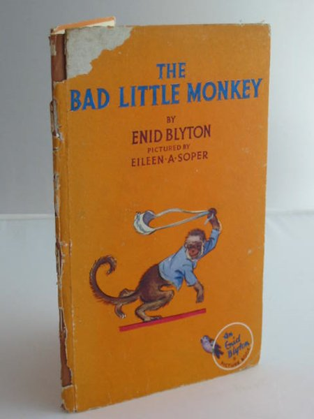 Photo of THE BAD LITTLE MONKEY written by Blyton, Enid illustrated by Soper, Eileen published by The Brockhampton Press Ltd. (STOCK CODE: 593696)  for sale by Stella & Rose's Books