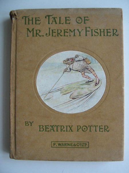 Photo of THE TALE OF MR. JEREMY FISHER written by Potter, Beatrix published by Frederick Warne & Co Ltd. (STOCK CODE: 594249)  for sale by Stella & Rose's Books