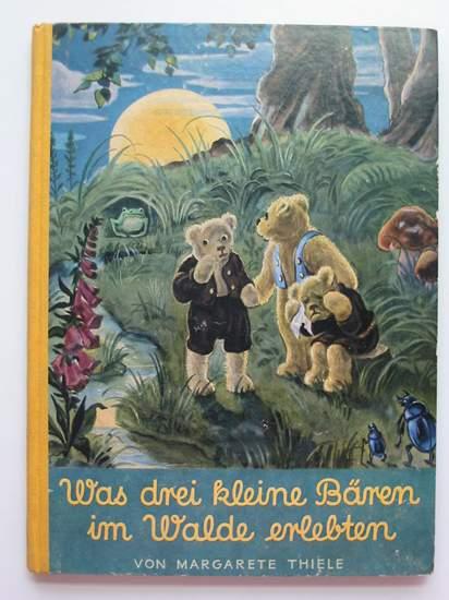 Photo of WAS DREI KLEINE BAREN IM WALDE ERLEBTEN written by Thiele, Margarethe illustrated by Schenkel, F. published by Verlag Fur Jugend Und Volk (STOCK CODE: 594523)  for sale by Stella & Rose's Books