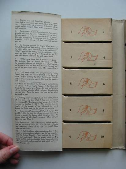 Photo of DONALD & PLUTO MOVIE BOOK IN 10 REELS written by Disney, Walt illustrated by Disney, Walt published by Collins (STOCK CODE: 594940)  for sale by Stella & Rose's Books