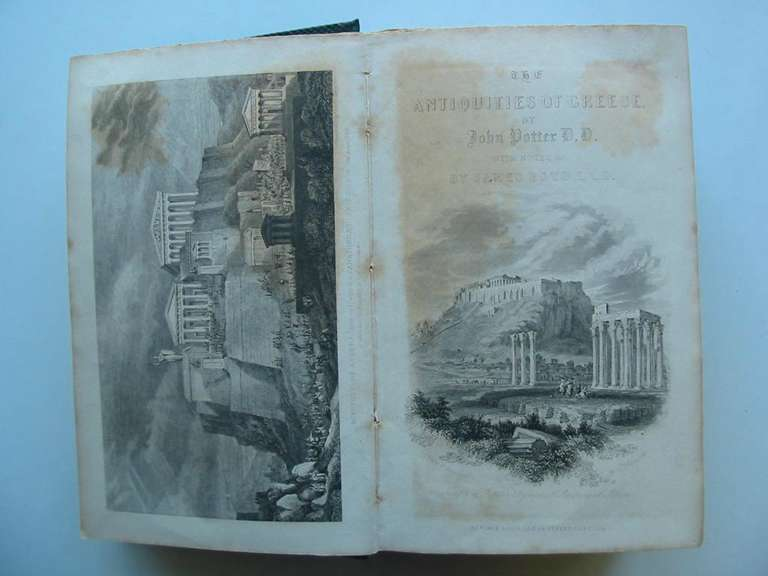 Photo of ARCHAEOLOGIA GRAECA OR THE ANTIQUITIES OF GREECE written by Potter, John<br />Boyd, James published by Thomas Tegg (STOCK CODE: 594984)  for sale by Stella & Rose's Books