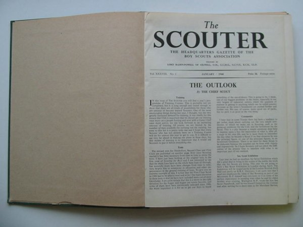 Photo of THE SCOUTER 1944 AND 1945 published by The Boy Scouts Association (STOCK CODE: 596067)  for sale by Stella & Rose's Books