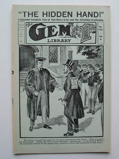 Photo of THE GEM LIBRARY NO. 336, VOL. 8 written by Clifford, Martin published by Howard Baker Press (STOCK CODE: 596589)  for sale by Stella & Rose's Books