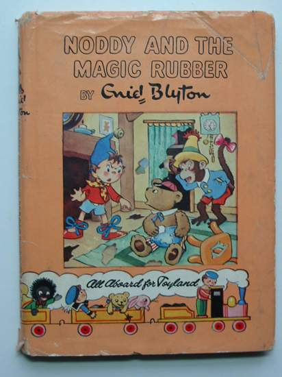Photo of NODDY AND THE MAGIC RUBBER written by Blyton, Enid illustrated by Wienk, Peter<br />Tyndall, Robert published by Sampson Low, Marston & Co. Ltd., Dennis Dobson Ltd. (STOCK CODE: 596670)  for sale by Stella & Rose's Books