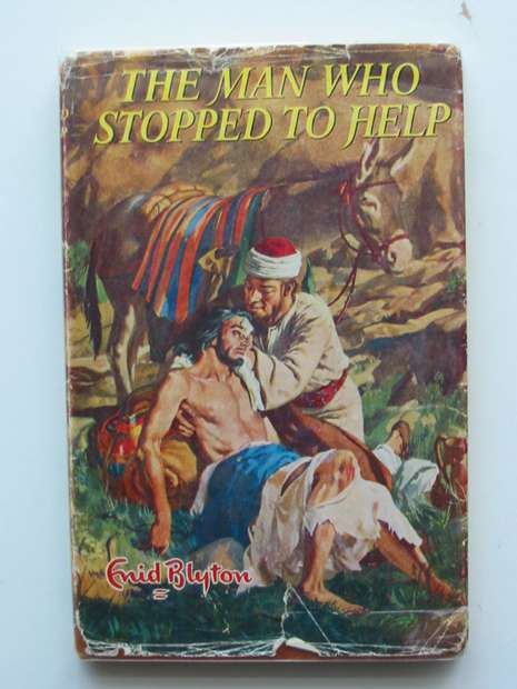 Photo of THE MAN WHO STOPPED TO HELP written by Blyton, Enid illustrated by Walker, Elsie published by Lutterworth Press (STOCK CODE: 596971)  for sale by Stella & Rose's Books