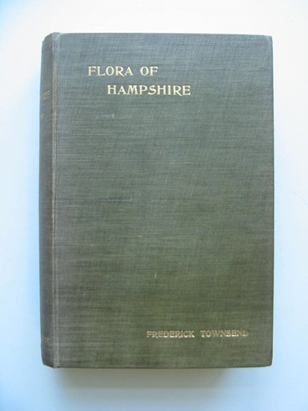 Photo of FLORA OF HAMPSHIRE written by Townsend, Frederick published by Lovell Reeve (STOCK CODE: 597555)  for sale by Stella & Rose's Books