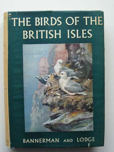 BANNERMAN / LODGE Birds of the British Isles 12 vol 1st ed 1953-63 With WRAPPERS