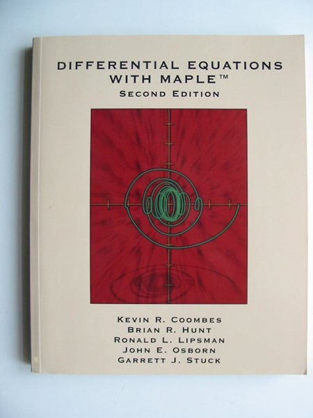 Photo of DIFFERENTIAL EQUATIONS WITH MAPLE written by Coombes, Kevin R.<br />et al,  published by John Wiley & Sons (STOCK CODE: 597985)  for sale by Stella & Rose's Books