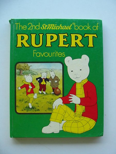 Photo of THE 2nd St MICHAEL BOOK OF RUPERT FAVOURITES written by Tourtel, Mary illustrated by Tourtel, Mary published by Purnell Books (STOCK CODE: 607440)  for sale by Stella & Rose's Books