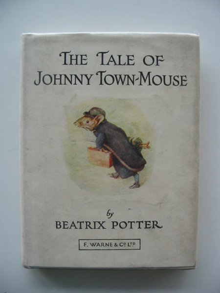Photo of THE TALE OF JOHNNY TOWN-MOUSE written by Potter, Beatrix illustrated by Potter, Beatrix published by Frederick Warne & Co Ltd. (STOCK CODE: 614275)  for sale by Stella & Rose's Books