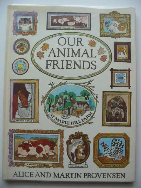 Photo of OUR ANIMAL FRIENDS written by Provensen, Alice<br />Provensen, Martin illustrated by Provensen, Alice<br />Provensen, Martin published by Walker Books (STOCK CODE: 619637)  for sale by Stella & Rose's Books