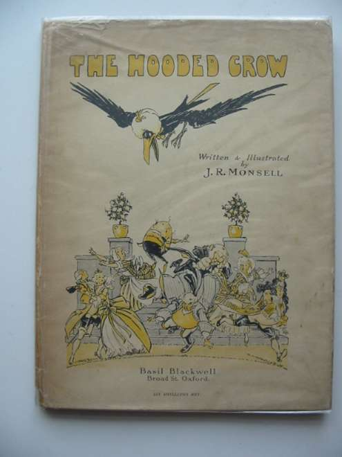 Photo of THE HOODED CROW written by Monsell, J.R. illustrated by Monsell, J.R. published by Basil Blackwell (STOCK CODE: 621853)  for sale by Stella & Rose's Books