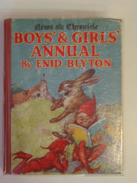 Photo of BOYS' & GIRLS' ANNUAL written by Blyton, Enid illustrated by Aris, Ernest A.<br />Nixon, Katherine published by News Chronicle (STOCK CODE: 623849)  for sale by Stella & Rose's Books