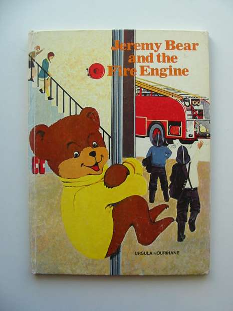 Photo of JEREMY BEAR AND THE FIRE ENGINE written by Hourihane, Ursula illustrated by Tudor Art Agency Ltd.,  published by Queen Anne Press (STOCK CODE: 626997)  for sale by Stella & Rose's Books
