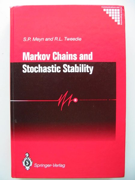 Photo of MARKOV CHAINS AND STOCHASTIC STABILITY written by Meyn, S.P.<br />Tweedie, R.L. published by Springer-Verlag (STOCK CODE: 627798)  for sale by Stella & Rose's Books