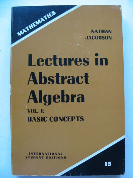 Photo of LECTURES IN ABSTRACT ALGEBRA written by Jacobson, Nathan published by Van Nostrand Reinhold Company (STOCK CODE: 628497)  for sale by Stella & Rose's Books