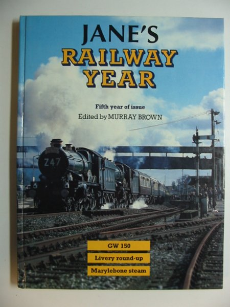 Photo of JANE'S RAILWAY YEAR written by Brown, Murray published by Jane's Publishing Company (STOCK CODE: 628665)  for sale by Stella & Rose's Books