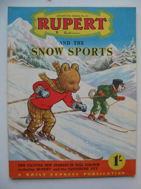 Photo of RUPERT ADVENTURE SERIES No. 23 - RUPERT AND THE SNOW SPORTS written by Bestall, Alfred published by Daily Express (STOCK CODE: 629094)  for sale by Stella & Rose's Books