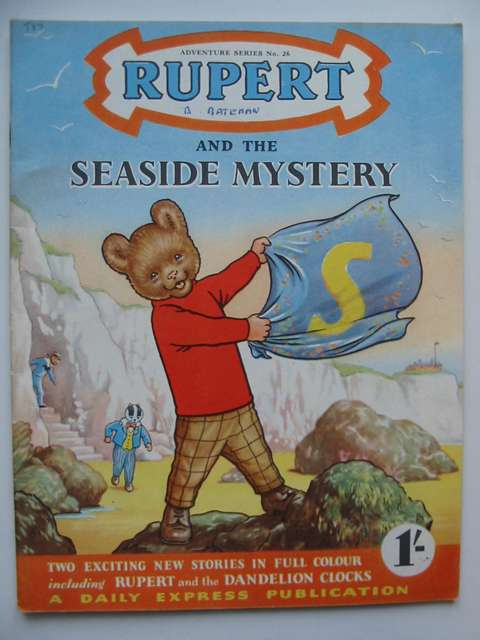 Photo of RUPERT ADVENTURE SERIES No. 26 - RUPERT AND THE SEASIDE MYSTERY written by Bestall, Alfred published by Daily Express (STOCK CODE: 629097)  for sale by Stella & Rose's Books