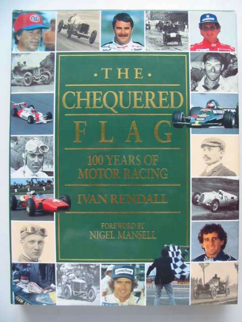 Photo of THE CHEQUERED FLAG written by Rendall, Ivan published by Weidenfeld and Nicolson (STOCK CODE: 629518)  for sale by Stella & Rose's Books