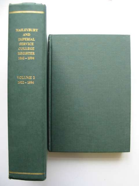 Photo of HAILEYBURY AND IMPERIAL SERVICE COLLEGE REGISTER 1862-1994 published by The Haileybury Society (STOCK CODE: 630225)  for sale by Stella & Rose's Books