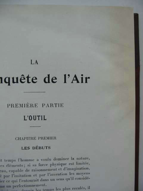 Photo of LA CONQUETE DE L'AIR written by De Forge, L. Sazerac published by Berger-Levrault (STOCK CODE: 630519)  for sale by Stella & Rose's Books