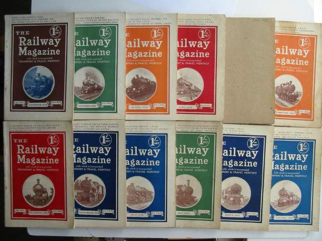 Photo of THE RAILWAY MAGAZINE VOL 62 (LXII) 1928 (12 ISSUES)- Stock Number: 630827