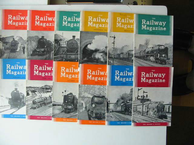 Photo of THE RAILWAY MAGAZINE VOL 104 published by The Tothill Press (STOCK CODE: 630837)  for sale by Stella & Rose's Books