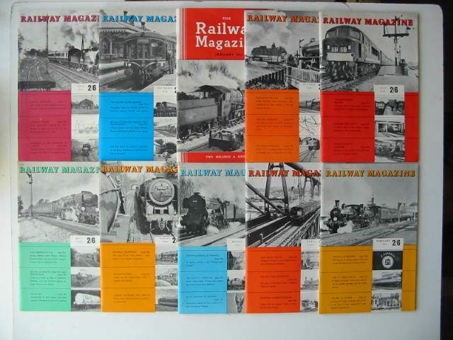 Photo of THE RAILWAY MAGAZINE VOL 109 published by The Tothill Press (STOCK CODE: 630839)  for sale by Stella & Rose's Books