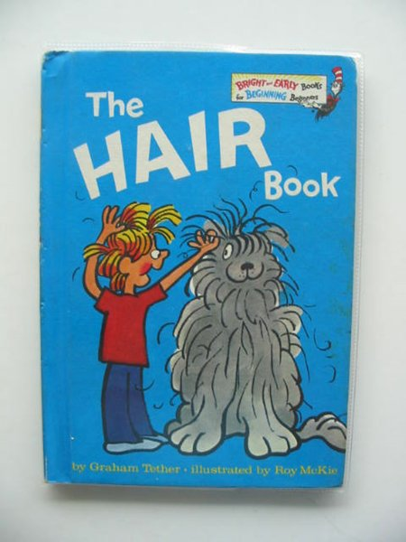 Photo of THE HAIR BOOK written by Tether, Graham illustrated by McKie, Roy published by Collins (STOCK CODE: 651660)  for sale by Stella & Rose's Books