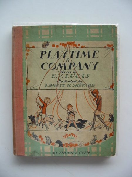 Photo of PLAYTIME & COMPANY written by Lucas, E.V. illustrated by Shepard, E.H. published by Methuen & Co. Ltd. (STOCK CODE: 656846)  for sale by Stella & Rose's Books