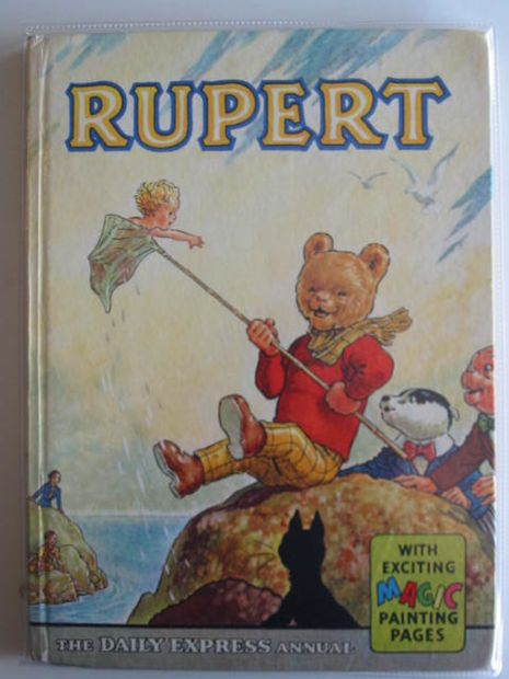 Photo of RUPERT ANNUAL 1963 written by Bestall, Alfred illustrated by Bestall, Alfred published by Daily Express (STOCK CODE: 660977)  for sale by Stella & Rose's Books