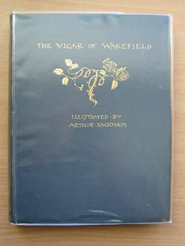 Photo of THE VICAR OF WAKEFIELD written by Goldsmith, Oliver illustrated by Rackham, Arthur published by George G. Harrap & Co. Ltd. (STOCK CODE: 662550)  for sale by Stella & Rose's Books