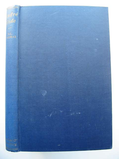 Photo of ANDRE GIDE written by Thomas, D. Lawrence published by Secker & Warburg (STOCK CODE: 663159)  for sale by Stella & Rose's Books