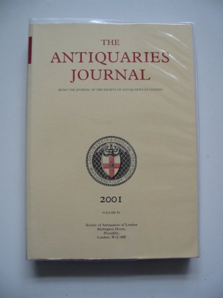 Photo of THE ANTIQUARIES JOURNAL VOLUME 81 published by Society Of Antiquaries Of Newcastle Upon Tyne (STOCK CODE: 668723)  for sale by Stella & Rose's Books