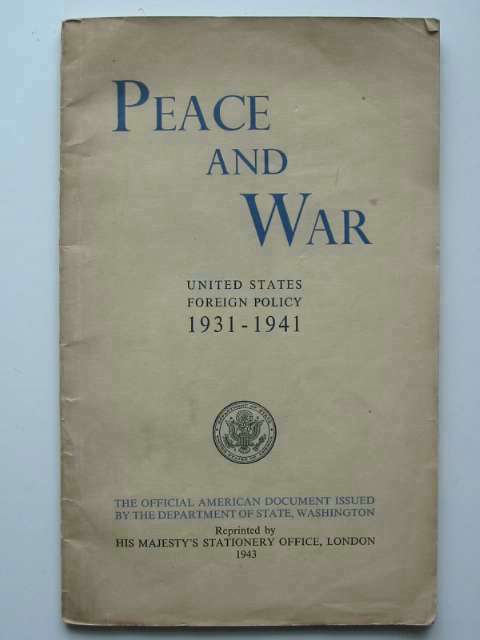 Photo of PEACE AND WAR published by HMSO (STOCK CODE: 670091)  for sale by Stella & Rose's Books