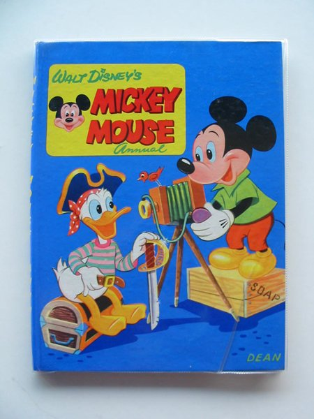 Photo of MICKEY MOUSE ANNUAL 1958 FOR 1959 written by Disney, Walt illustrated by Disney, Walt published by Dean & Son Ltd. (STOCK CODE: 670881)  for sale by Stella & Rose's Books