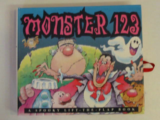 Photo of MONSTER 123 published by Parragon Books (STOCK CODE: 674954)  for sale by Stella & Rose's Books