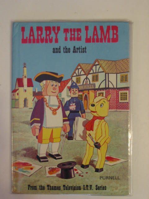 Photo of LARRY THE LAMB AND THE ARTIST published by Purnell (STOCK CODE: 677935)  for sale by Stella & Rose's Books