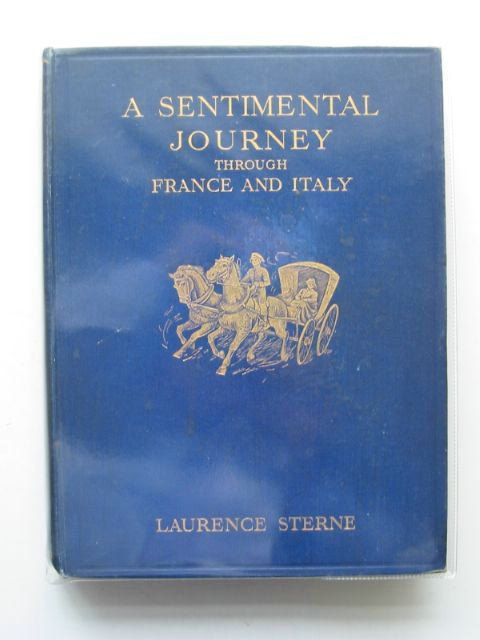 Photo of A SENTIMENTAL JOURNEY THROUGH FRANCE AND ITALY written by Sterne, Laurence illustrated by Hopkins, Everard published by Williams and Norgate (STOCK CODE: 678295)  for sale by Stella & Rose's Books