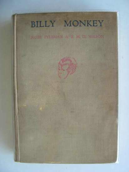 Photo of BILLY MONKEY written by Fyleman, Rose<br />Wilson, E.M.D. illustrated by Leslie, Cecil published by Thomas Nelson and Sons Ltd. (STOCK CODE: 678357)  for sale by Stella & Rose's Books