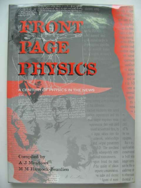 Photo of FRONT PAGE PHYSICS written by Meadows, A.J.<br />Hancock-Beaulieu, M.M. published by Institute Of Physics (STOCK CODE: 680566)  for sale by Stella & Rose's Books