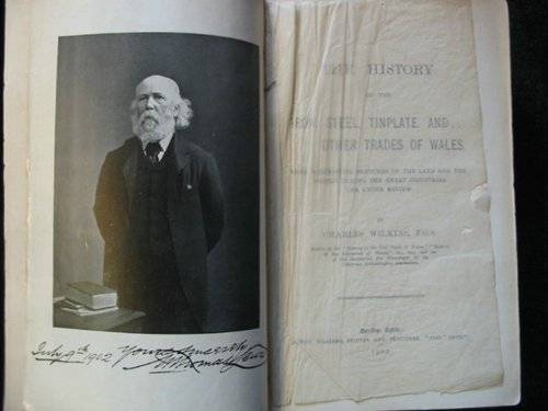 Photo of THE HISTORY OF THE IRON, STEEL, TINPLATE, AND OTHER TRADES OF WALES written by Wilkins, Charles published by Joseph Williams Limited (STOCK CODE: 686630)  for sale by Stella & Rose's Books