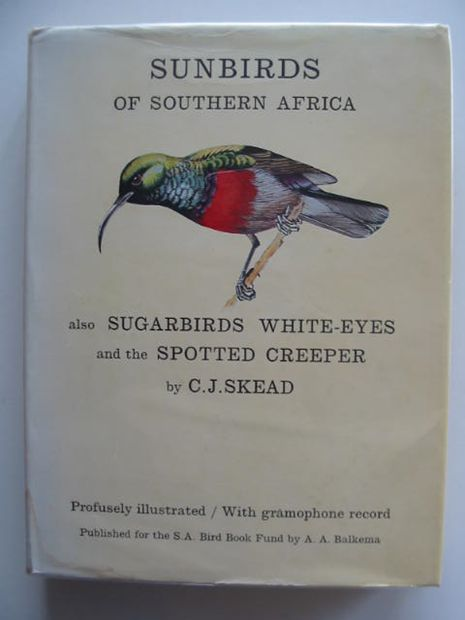 Photo of THE SUNBIRDS OF SOUTHERN AFRICA written by Skead, C.J.<br />Niven, Cecily M.<br />et al,  illustrated by Perry, John published by South Africa Bird Book Fund (STOCK CODE: 692095)  for sale by Stella & Rose's Books