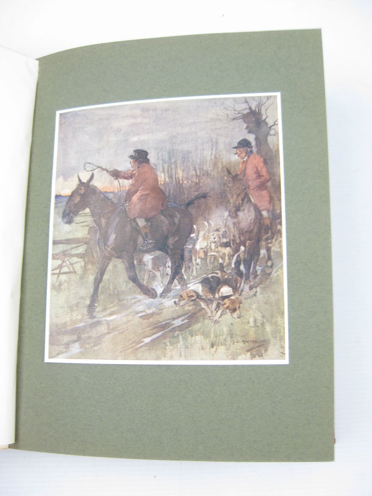 Photo of HUNTS WITH JORROCKS written by Surtees, R.S. illustrated by Armour, G.D. published by Hodder & Stoughton (STOCK CODE: 703316)  for sale by Stella & Rose's Books