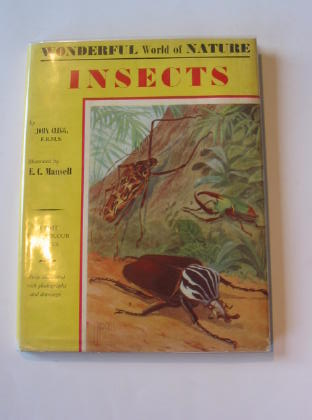 Photo of STUDYING INSECTS written by Clegg, John illustrated by Mansell, E.C. published by Bruce & Gawthorn Limited (STOCK CODE: 705640)  for sale by Stella & Rose's Books