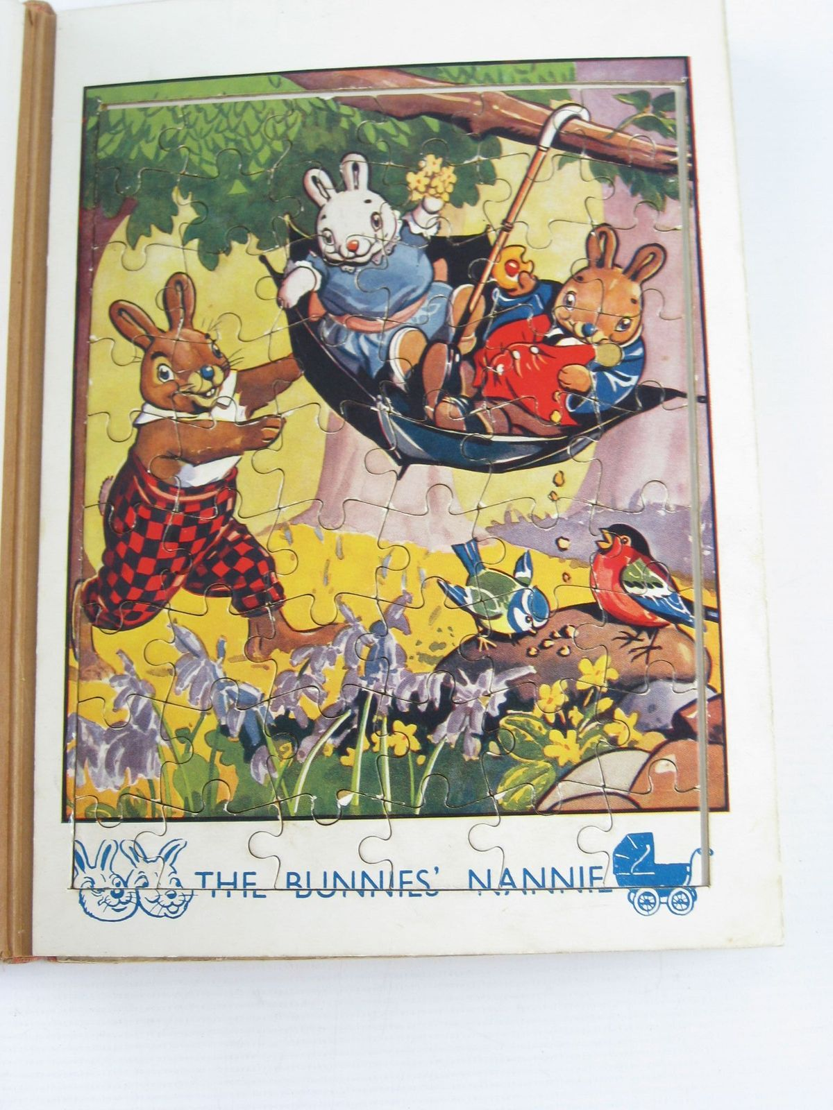 Photo of ROBIN'S JIG-SAW STORY BOOK published by John Leng & Co. Ltd. (STOCK CODE: 717125)  for sale by Stella & Rose's Books