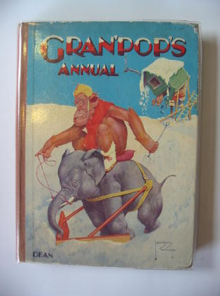Photo of GRAN'POP'S ANNUAL written by Groom, Arthur illustrated by Wood, Lawson published by Dean & Son Ltd. (STOCK CODE: 718066)  for sale by Stella & Rose's Books